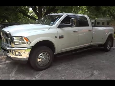 2012 (Dodge) Ram 3500 Dually Laramie Cummins Review  YouTube