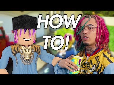 HOW TO BECOME LIL PUMP IN ROBLOX! (The Official OOFER GANG Avatar)