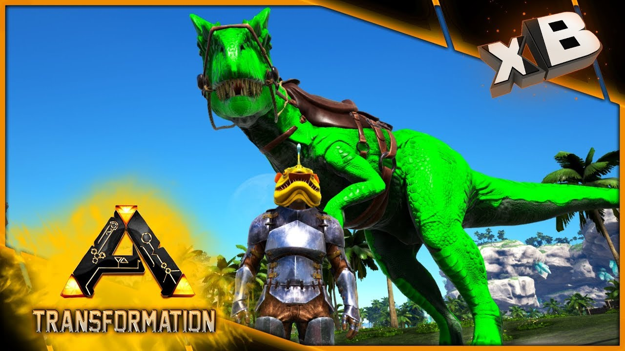Apex Allosaurus! :: Modded Ark: Transformation :: E03 - xBCrafted