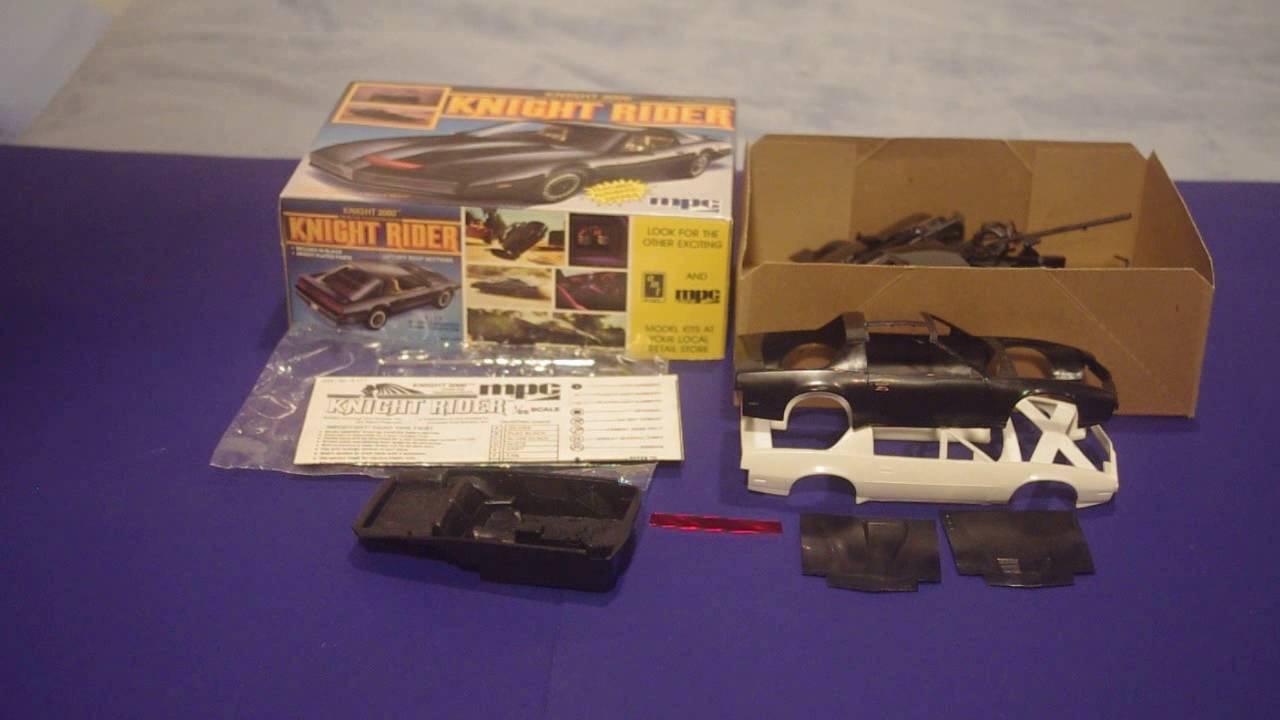 MPC Knight Rider model kit history/comparison - YouTube