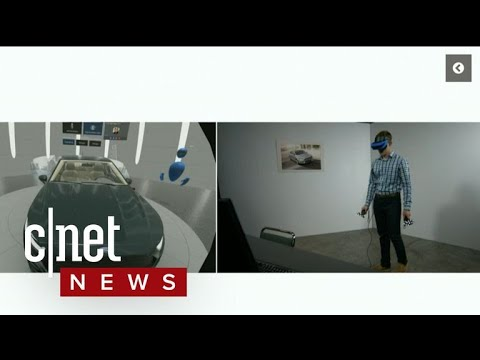 Ford demos mixed reality car design at Microsoft Ignite (CNET News)