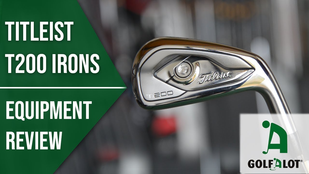 2019's BEST LOOKING iron? Titleist T200 Iron Review