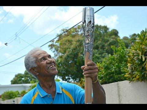 Highlights of the Queen's Baton Relay in Barbados