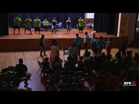 Kiribati - Tabukin Tion YCL Gospel Singers (Kunan Arorae) - Pukekohe Town Hall Show 12 Jan 2018