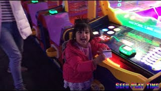 Dave & Buster Indoor Games And Fun Activities For Kids With Sefu Play Time.