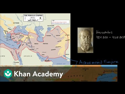 Beginning of the Greco Persian Wars | World History | Khan Academy