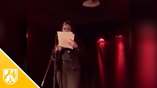 Zelal Adir - Poetry Slam in der Katt