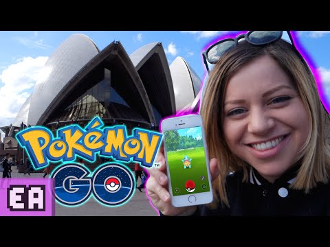 POKEMON GO SYDNEY LET'S PLAY ADVENTURE