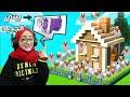 مليت بيت رسول دجاج | و للأسف تفجر بيتي بس بنيت بيت جديد |  Minecraft Prank