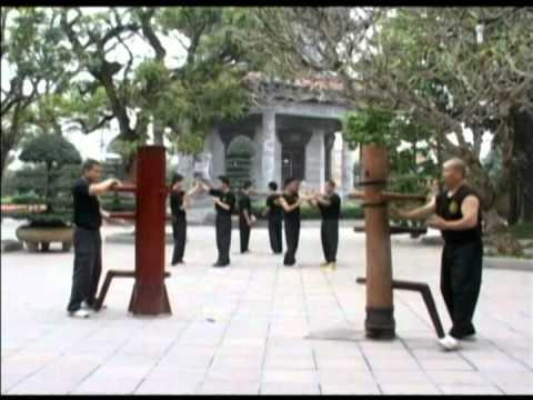 Wingchun Dummy Vietnam Moc nhan 1