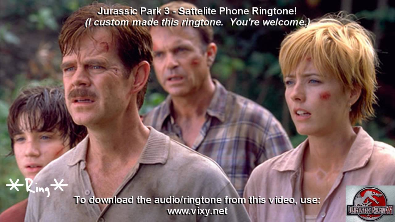 jurassic park 3 cell phone ring download