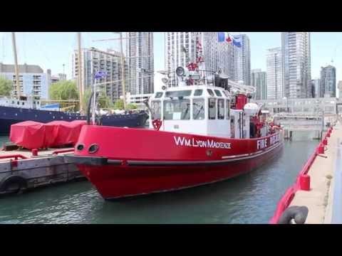 Toronto Fire Rescue Boat