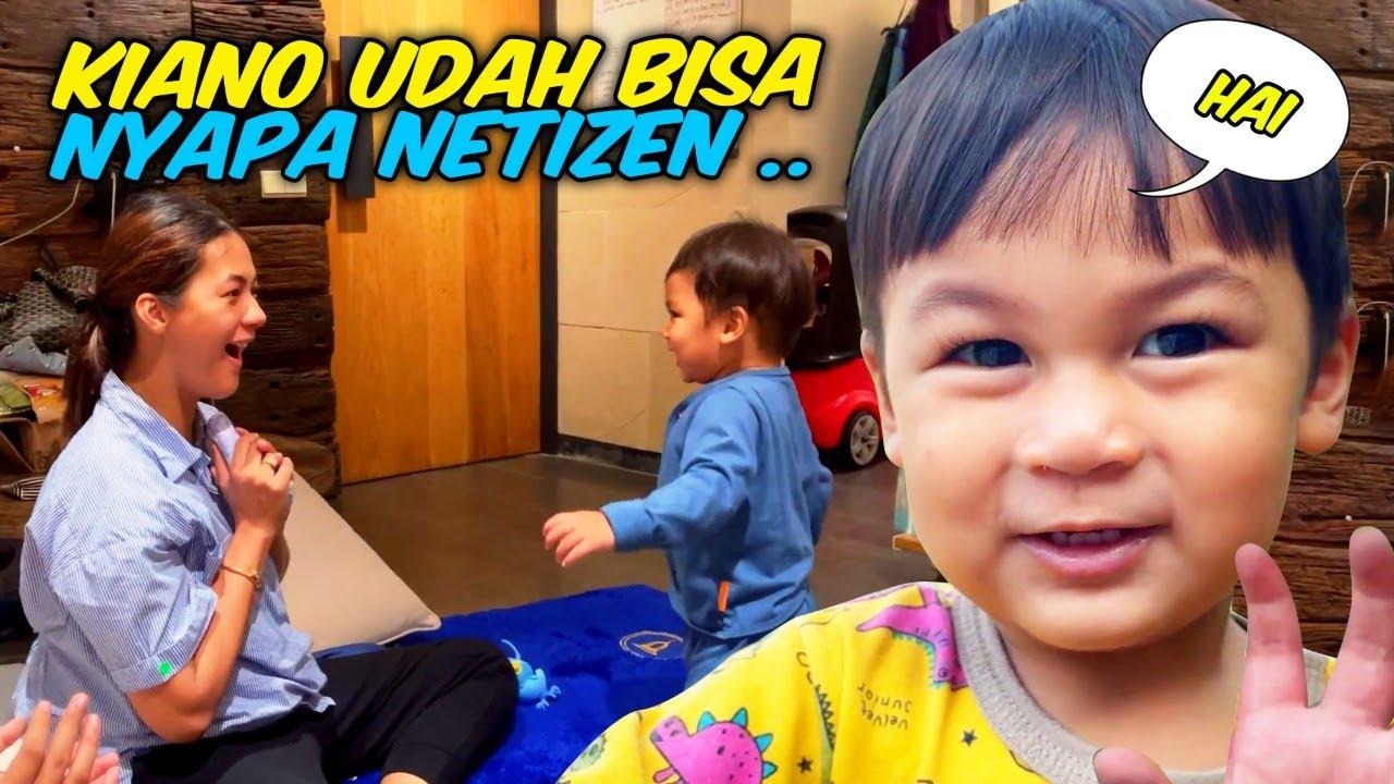 MAMA PAULA BAHAGIA LIAT KIANO BEGINI 🤗🤗🤗 - KIANO UDAH BISA NYAPA AUNTY UNCLE !!!