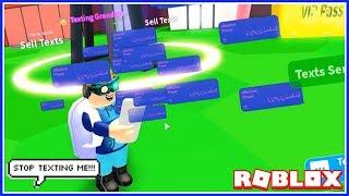 Ich bin DER GOTT DES TEXTING! (Roblox Texting Simulator)