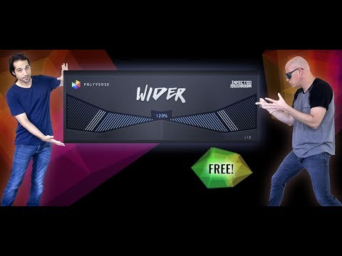 WIDER - El plugin estéreo que lo transforma todo - Tutorial