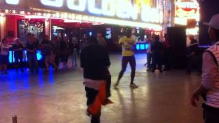 FREEMONT STREET- 3 WAY DANCE BATTLE