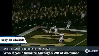 Favorite Michigan Football Players Ever - James Yoder's Favorite On Offense