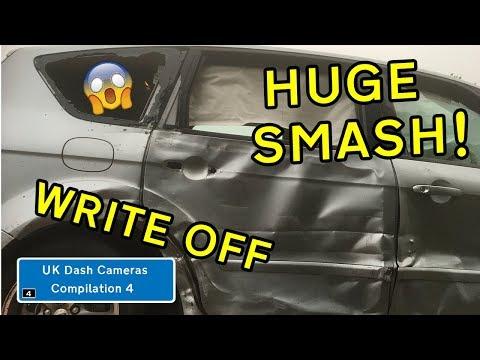 UK Dash Cameras - Compilation 4 - 2019 Bad Drivers, Crashes + Close Calls