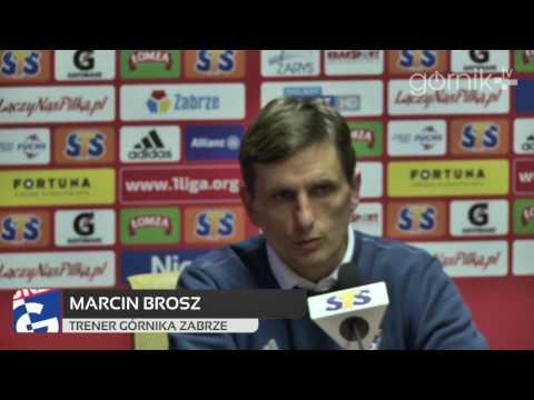 Konferencja: Górnik Zabrze 2 - 0 Sandecja Nowy Sącz (17.03.2017)