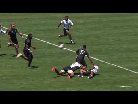 Joe Ravouvou scores amazing try at Rugby World Cup Sevens