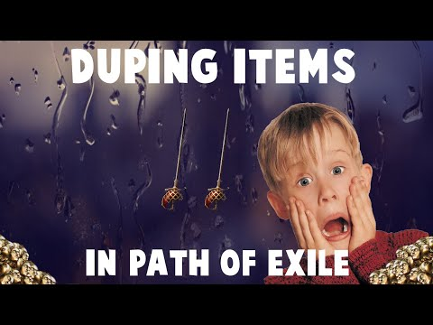 DUPING ITEMS IN POE!? -How to Duplicate Items ft  Einhar