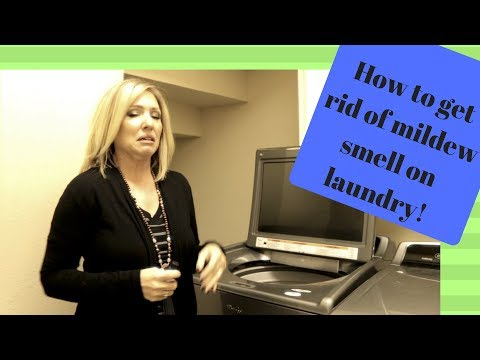 GET RID OF MILDEW SMELL IN LAUNDRY WITHOUT REWASHING   ESSENTIAL OIL HACK