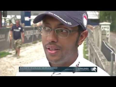 CSI5* Prix Artisan Farms winner Bassem Hassan Mohammed (QAT)