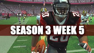 THEY ARE WHO WE THOUGH THEY WERE - MADDEN 2007 FALCONS FRANCHISE VS SAINTS (S3W5)