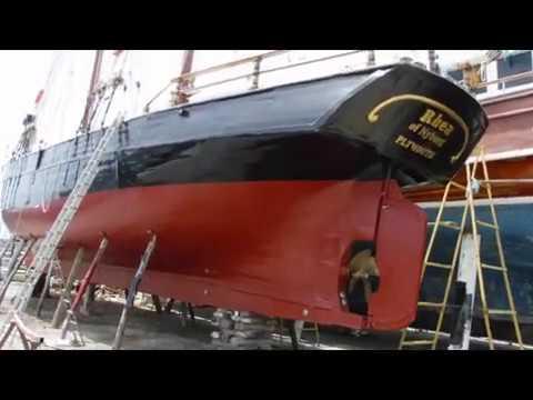 Деревянная лодка 1900