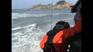 Day 1: Coast Guard rescues father and son caught in surf