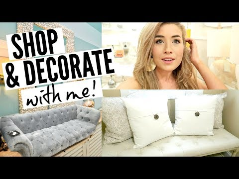 DECORATE WITH ME AND SHOP WITH ME AT HOMEGOODS | bathroom decor, new bench & more!