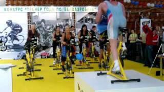 Мастер класс по сайкл-аэробике в олимпийском