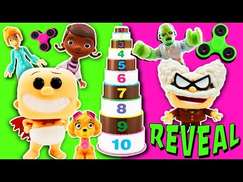 Mr Doh Captain Underpants Mystery Game Reveal Episode with the Layer Cake Game!