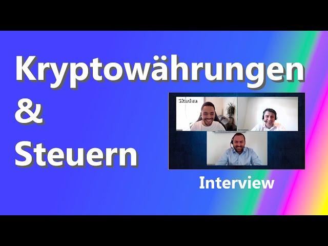 Kryptowährungen & Steuern | Steuerexperten im Interview | Bitcoin | Cardano | Ethereum | Deutschland