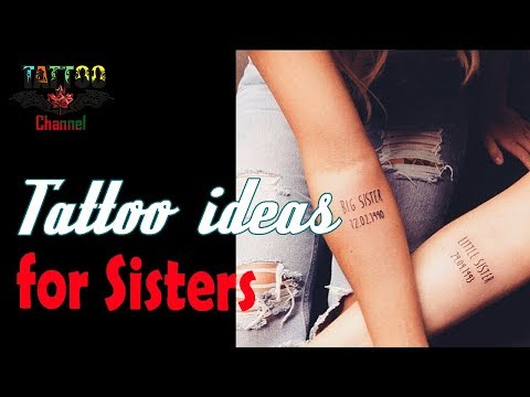 Cute Tattoo Ideas for Sisters