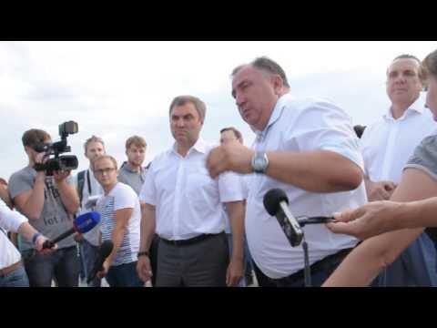 Валерий Сараев рассказывает о будущем пешеходной Волжской в Саратове