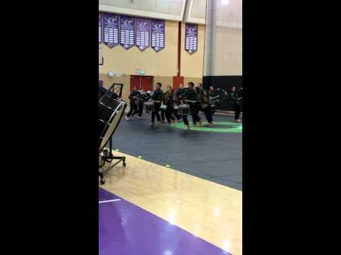 Mission Oak High School Drumline 2015