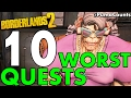 Top 10 Worst Side Quests and Missions in Borderlands 2 #PumaCounts