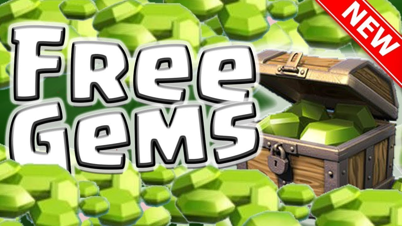how to get free gems in clash of clans 2018