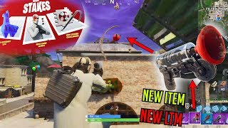 """Grappler (NEW ITEM) and new LTM """"High Stakes"""" - Fortnite"""