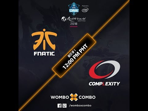 Fnatic vs Complexity Gaming (BO1) | ESL One Genting Group Stage