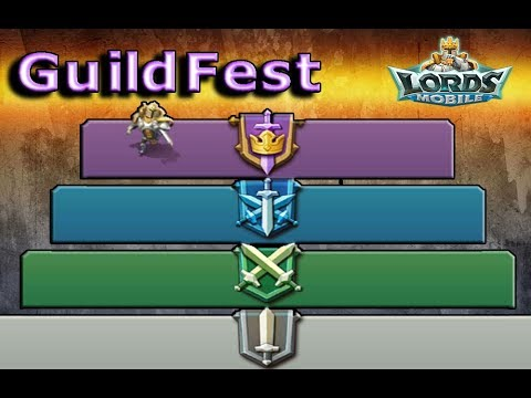 Lords Mobile Guild Fest EXPERT GAUNTLET REWARDS (First Place)