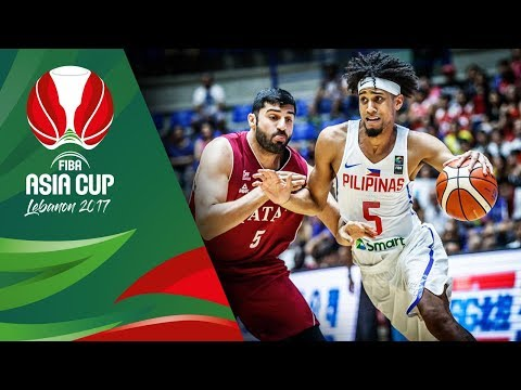 HIGHLIGHTS: Gilas Pilipinas vs. Qatar (VIDEO) FIBA Asia Cup 2017