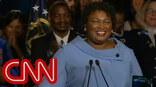 Stacey Abrams vows to remain in gubernatorial race