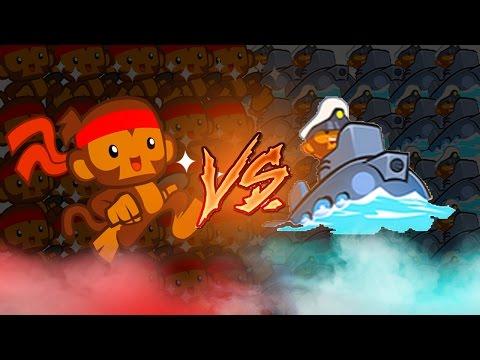 Bloons TD Battles  | SUB VS DART MONKEY