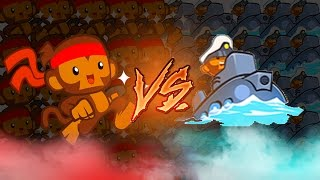 BTD Battles - Dart Monkeys vs Subs