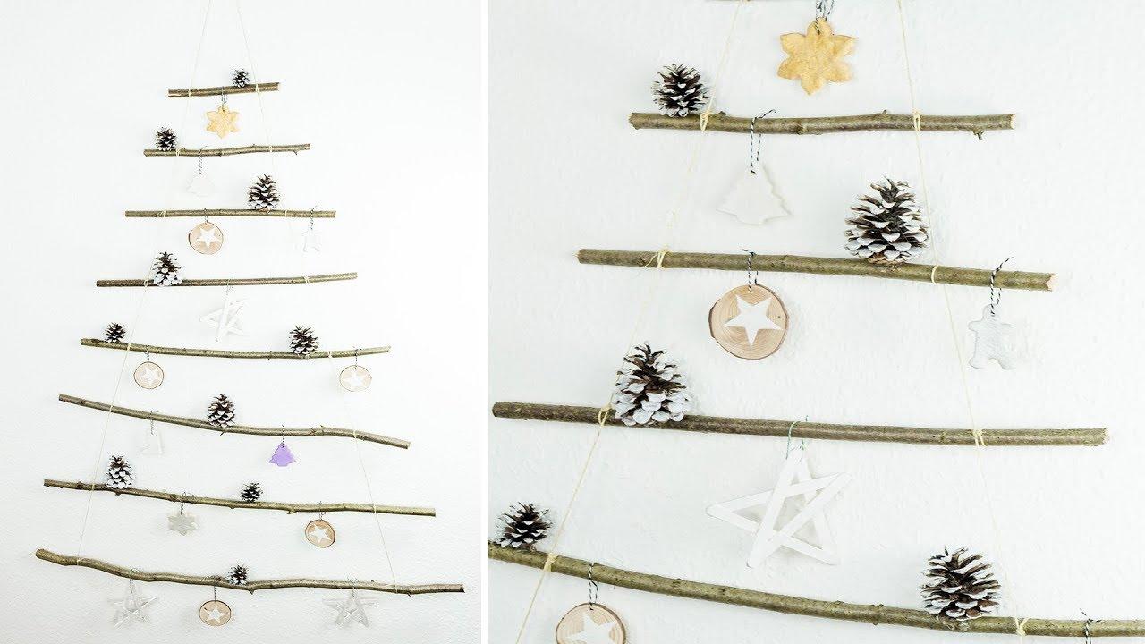 Weihnachtsbaum Aus ästen Basteln 4 Ideen Für Diy Christbaumschmuck Basteln Für Weihnachten