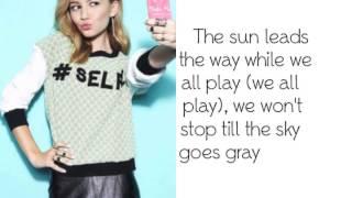 G Hannelius - Sun In My Hand - Lyrics