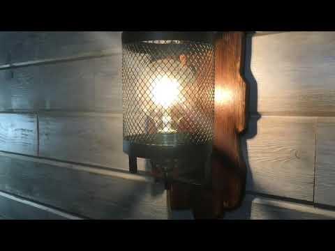 Светильники в стиле Loft (бра)