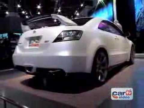 2005 Sema Honda Sport Concept Civic Si Youtube